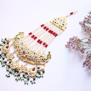 Headpieces and nose rings