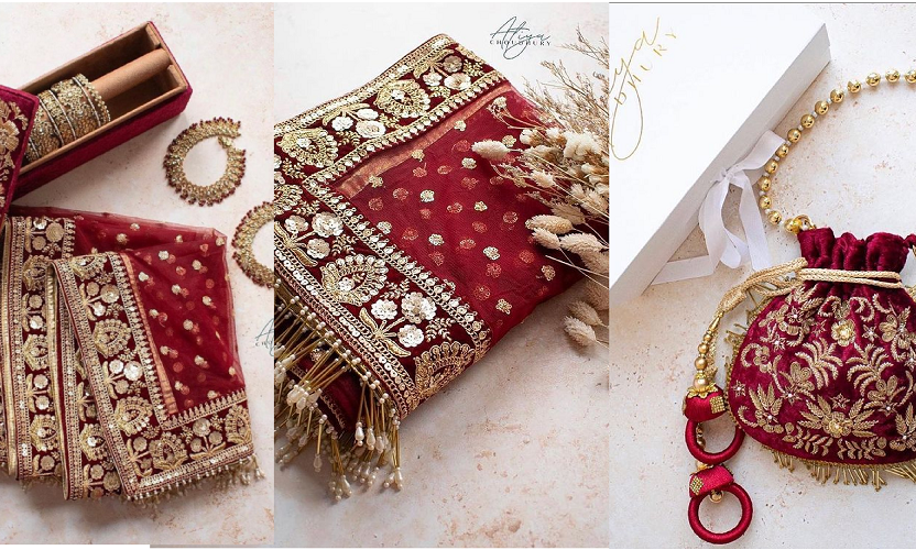 traditional-jewellery-with-dress-and-clutch-bag
