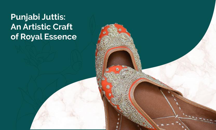 Artistic Craft of Punjabi Juttis